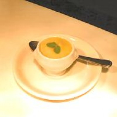 Parsnip and Blossom Honey Soup